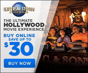 Universal Studios 2019 Spring $30 300 x 250
